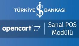 Türkiye İş Bankası OpenCart Sanal POS Modül..