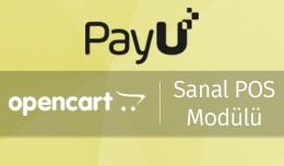 PayU OpenCart Sanal POS Modülü - PayU OpenCart..