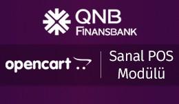 QNB Finansbank OpenCart Sanal POS Modülü - Fin..
