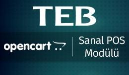 TEB OpenCart Sanal POS Modülü - TEB OpenCart V..