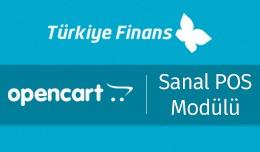 Türkiye Finans OpenCart Sanal POS Modülü - T�..