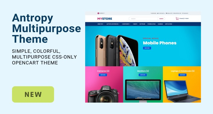 Antropy Multipurpose Theme