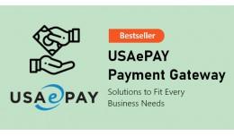 USAePAY Payement Gateway (1.5.x/2.x/3.x)