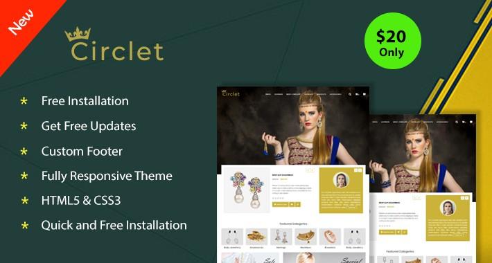 Circlet - Opencart 3 Theme