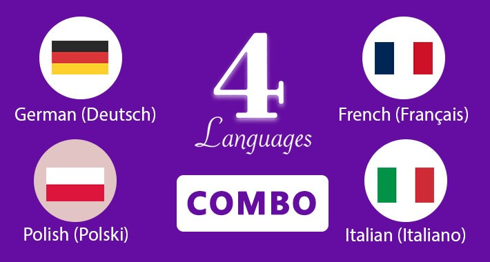 German,Italian,French and Polish Languages opencart 3