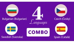 Bulgarian,Swedish,Czech,Spain Languages opencart 3
