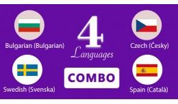 Bulgarian,Swedish,Czech,Spain Languages opencart 3