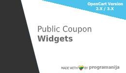 Public Coupon Widget