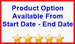 Product Option Available From Start Date - End D..