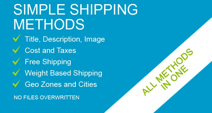 Simple Shipping (Delivery) Methods