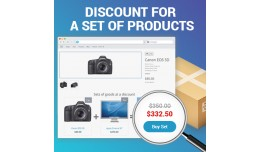 Discount for a set of products (cheaper together..