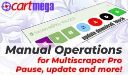 Manual Product Operations for Multiscraper Pro O..