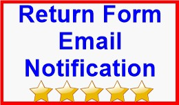 Return Form Email Notification