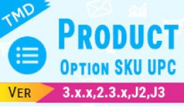 Product Option SKU UPC
