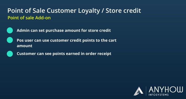 POS Customer Loyalty / Store Credit