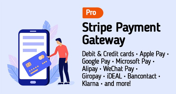 Stripe Gateway PRO :: Apple Pay :: SCA :: 3D Secure
