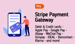 Stripe Gateway PRO :: Apple Pay :: SCA :: 3D Sec..