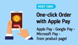 One Click Order :: ApplePay, GooglePay, Microsof..