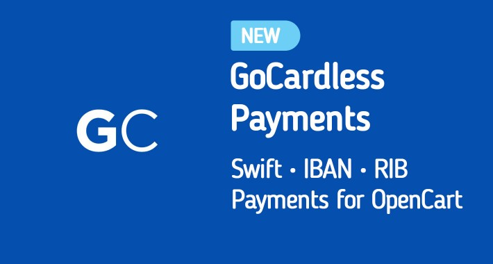 (1.5/2.x/3.x) GoCardless Payments for OpenCart