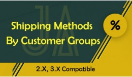 Shipping Methods By Customer Groups