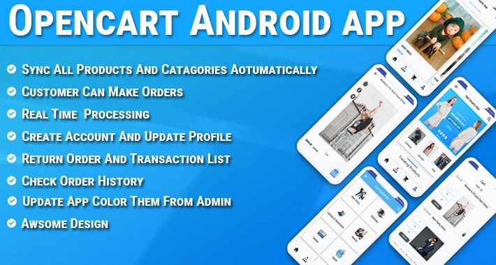 OpenCart Android App