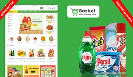 Basket Responsive Opencart Grocery Theme