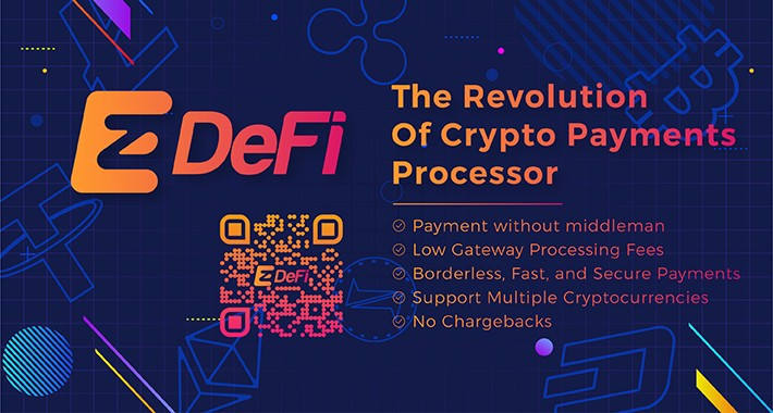 EzDeFi Bitcoin, ETH, Cryptocurrency payment gateway for Opencart