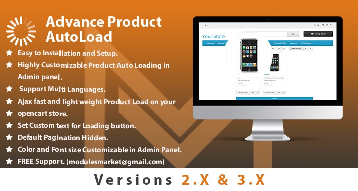 Autoload Products by Scroll