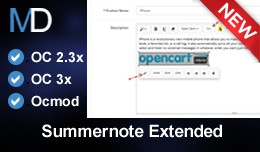 Summernote Extended