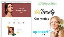 Beauty Cosmetic Mega MultiStore Opencart Theme