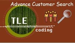 Advance Customer Search