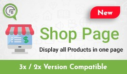 Shop Page - display all products in one page