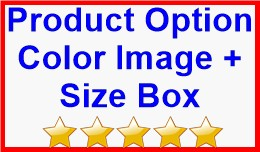 Product Option Color Image + Size Box