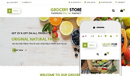 Grocery Store  - OpenCart 3 Multi-Purpose Theme