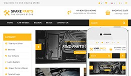 Spare Parts  - OpenCart 3 Multi-Purpose Theme