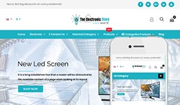 Electronic - OpenCart 3 Multi-Purpose Theme