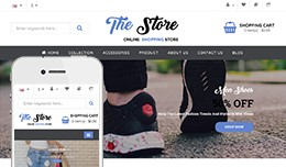 The Fashion Store - OpenCart 3 Multi-Purpose Theme