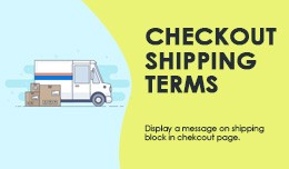 Checkout Shipping Terms