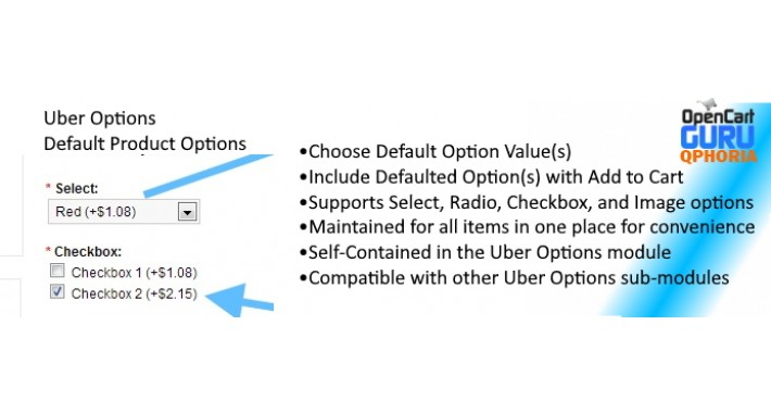 Options Boost 2.0 - Uber Options - Default Product Option 2x/3x