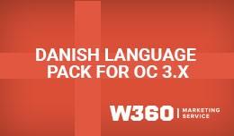 Dansk Sprogpakke OC3x