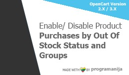 Sell Out Of Stock Products based by Status And U..
