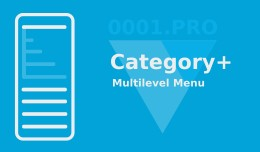 Category+  Multilevel Menu