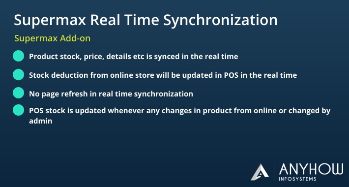 POS Real Time Synchronization