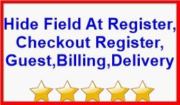 Hide Field At Register,Checkout Reg,Guest,Billin..