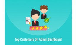 Admin Dashboard - Top Customers Listing
