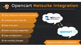 Opencart NetSuite Integration