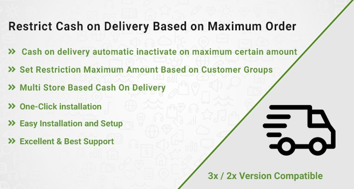 Restrict Cash on Delivery Based on Maximum Order