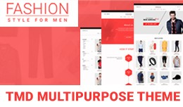 Multipurpose Fashion Theme