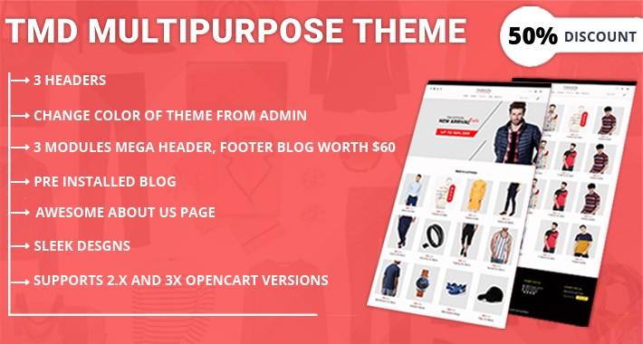 Multipurpose Fashion Theme