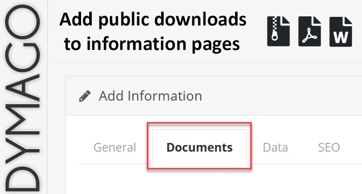 Downloads for information pages